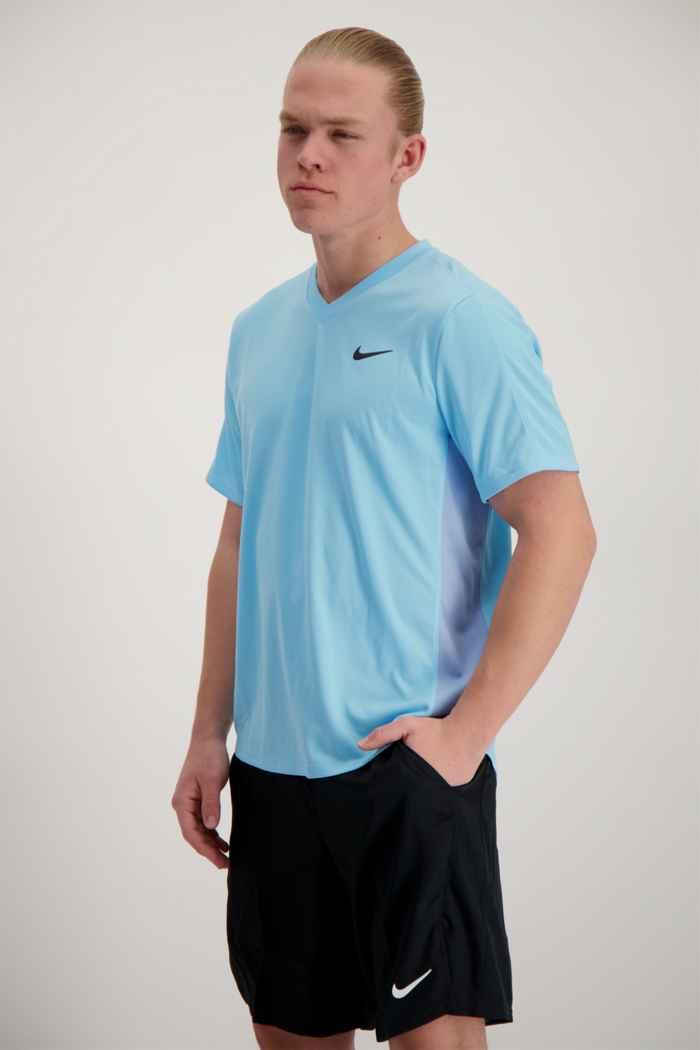 Nike Court Dri-FIT Victory Herren Tennisshirt 1