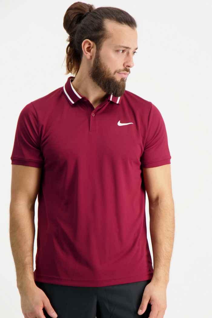 Nike Court Dri-FIT Victory maglietta da tennis uomo Colore Bordeaux 1