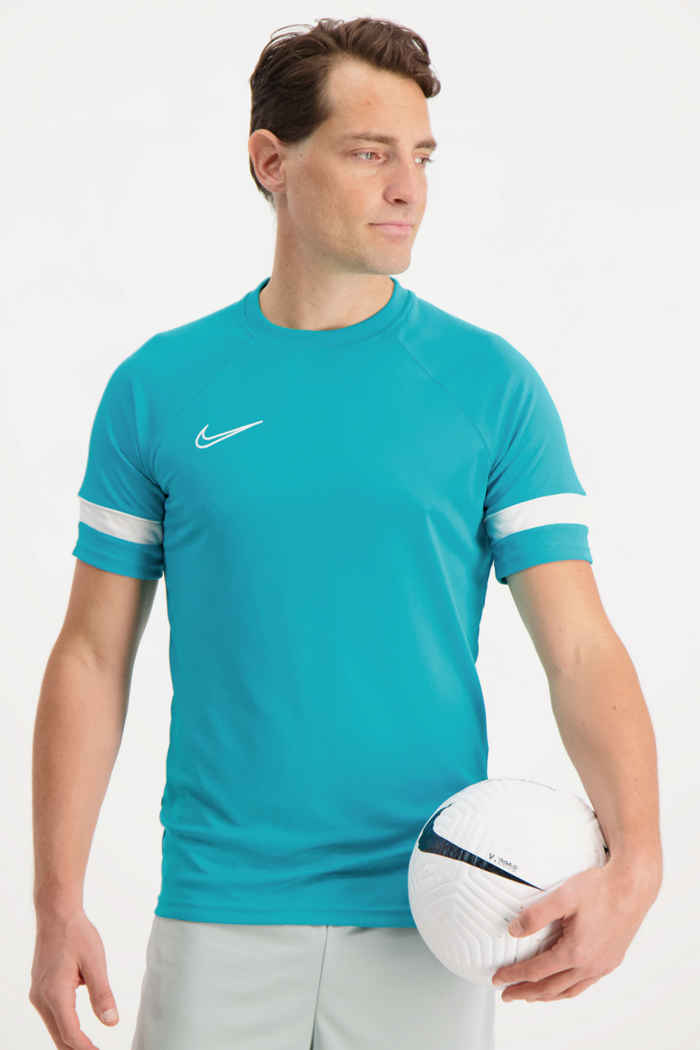 Nike Dri-FIT Academy t-shirt hommes Couleur Turquoise 1