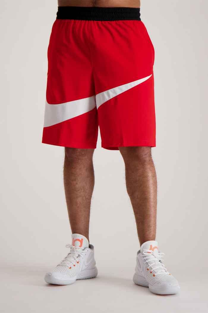 Nike Dri-FIT HBR short hommes Couleur Rouge 1