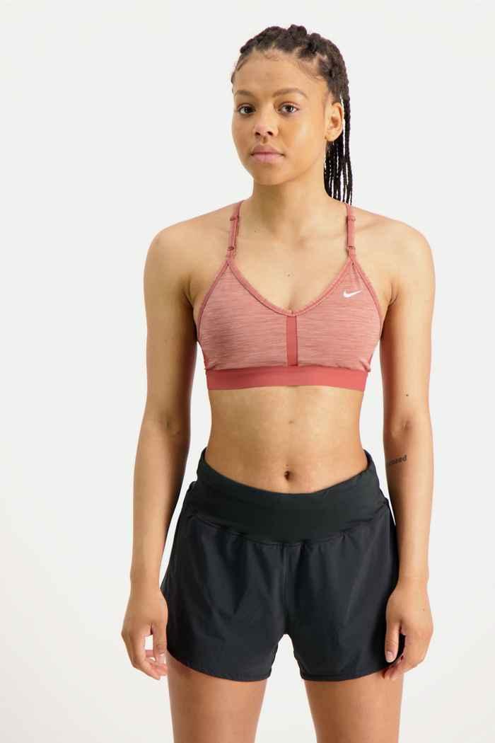 Nike Dri-FIT Indy reggiseno sportivo donna Colore Ruggine 1