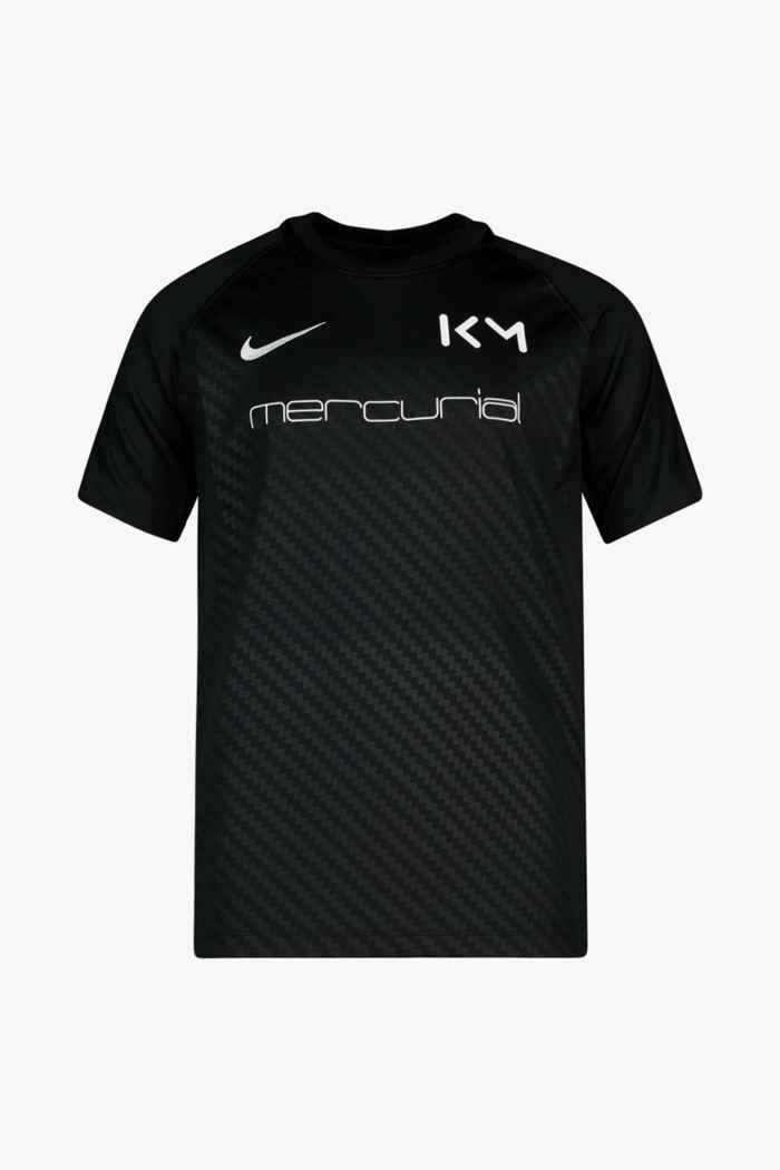 Nike Dri-FIT Kylian Mbappé Kinder T-Shirt Farbe Schwarz-weiß 1