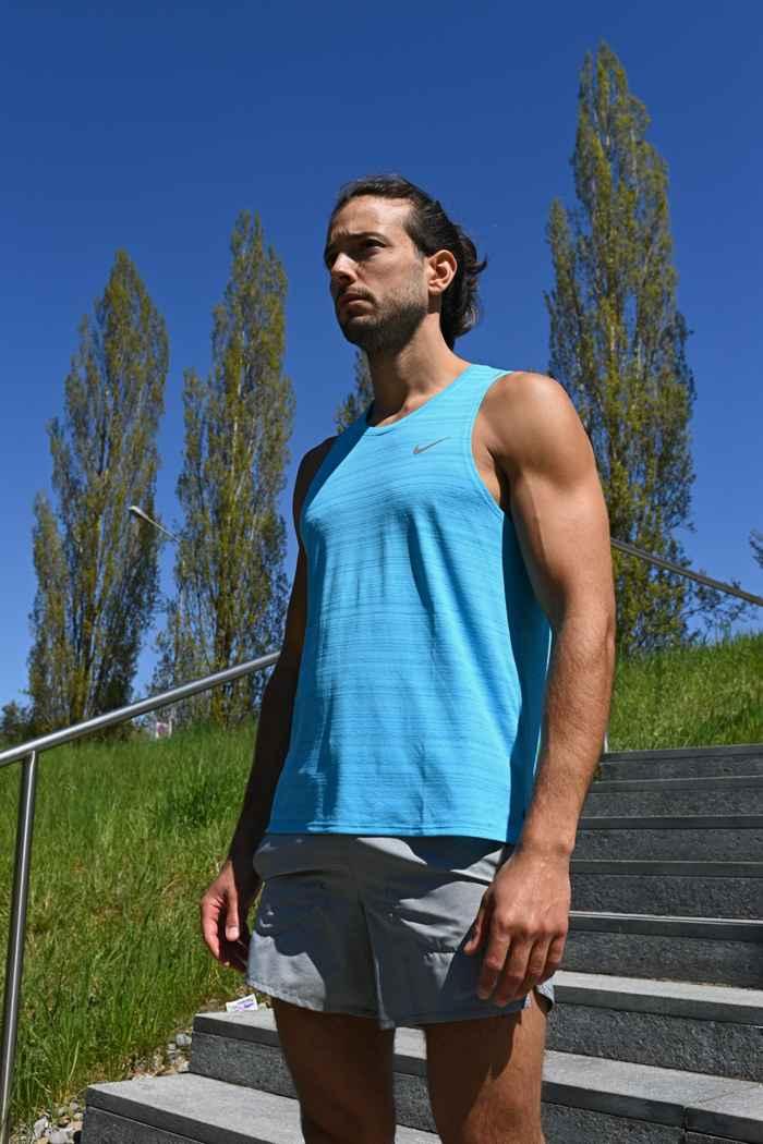 Nike Dri-FIT Miler tanktop uomo Colore Turchese 1