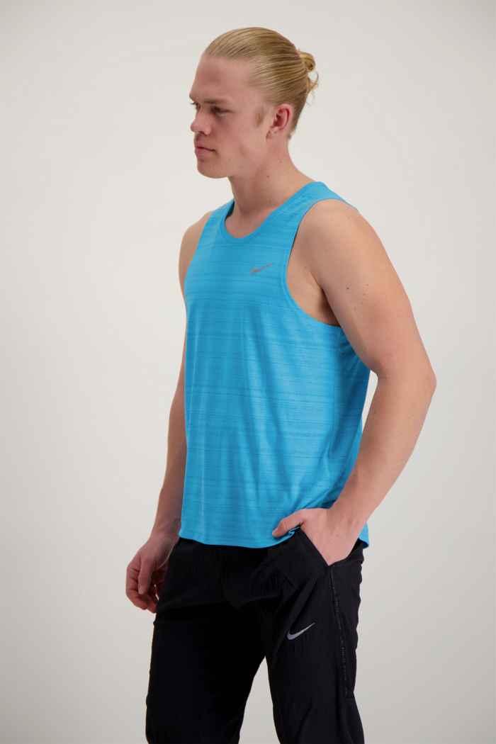 Nike Dri-FIT Miler tanktop uomo Colore Turchese 2