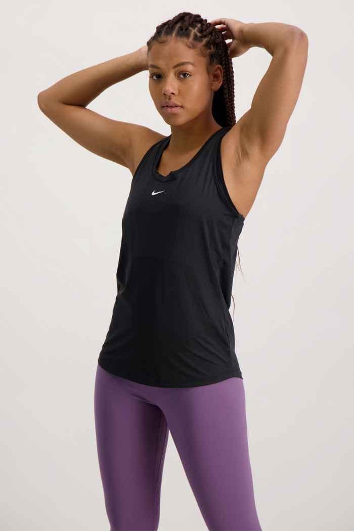 Nike Dri-FIT One top femmes Couleur Noir 1