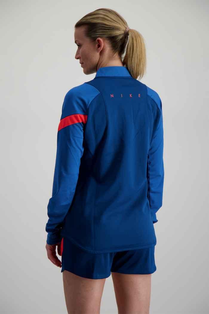 Nike Dri-FIT short donna Colore Blu petrolio 2