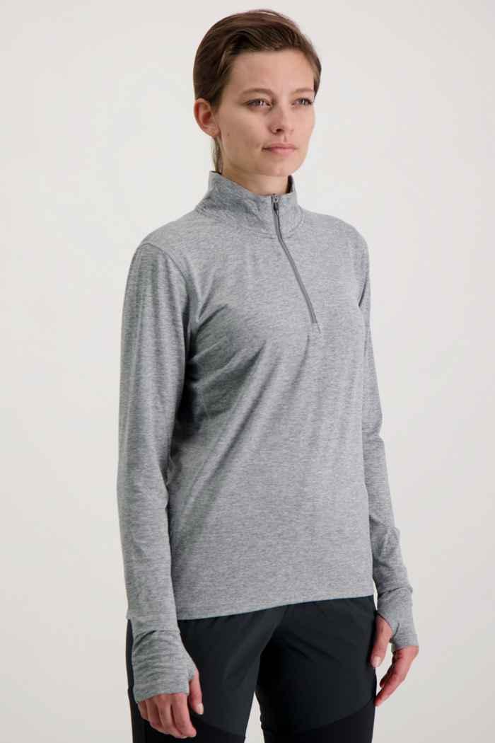 Nike Element Damen Longsleeve Farbe Grau 1