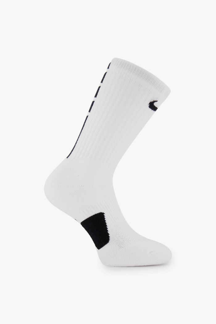 Nike Elite Crew 34-46 calze Colore Bianco 1