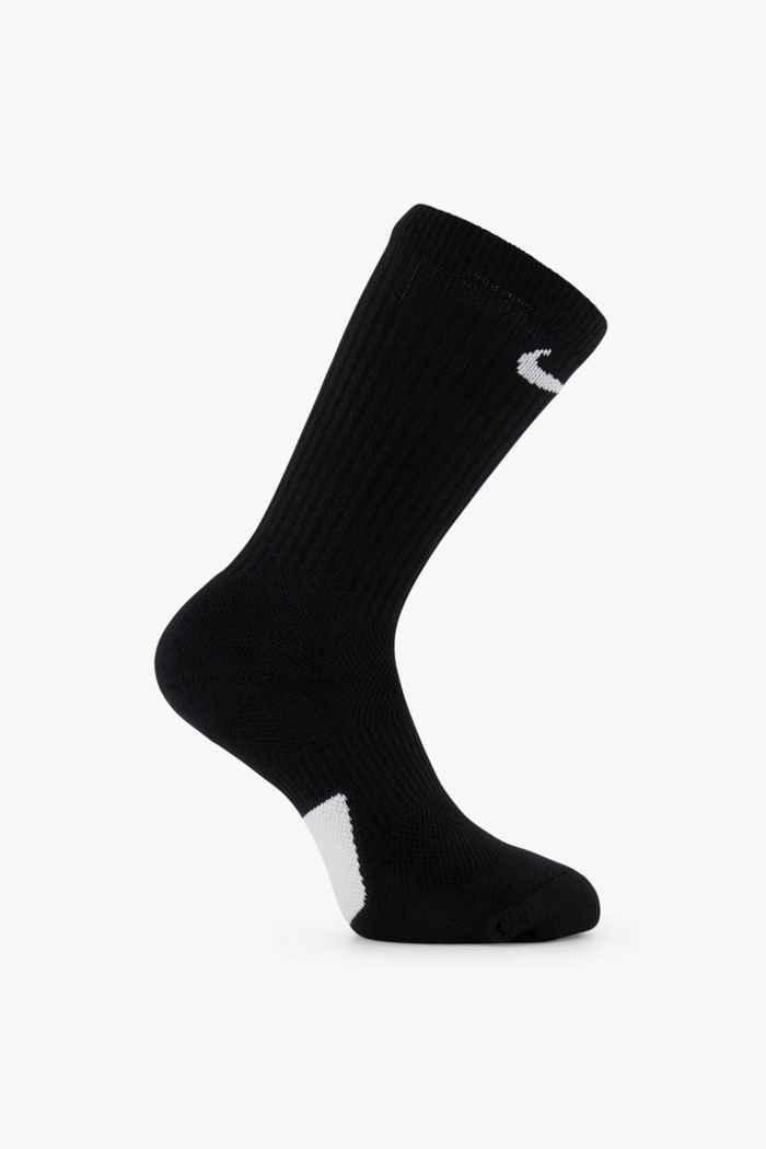 Nike Elite Crew 34-46 calze Colore Nero 1