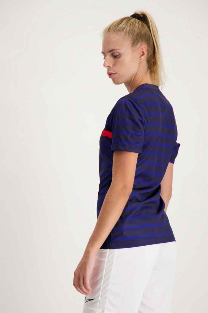 Nike Frankreich Home Replica Damen Fussballtrikot 2