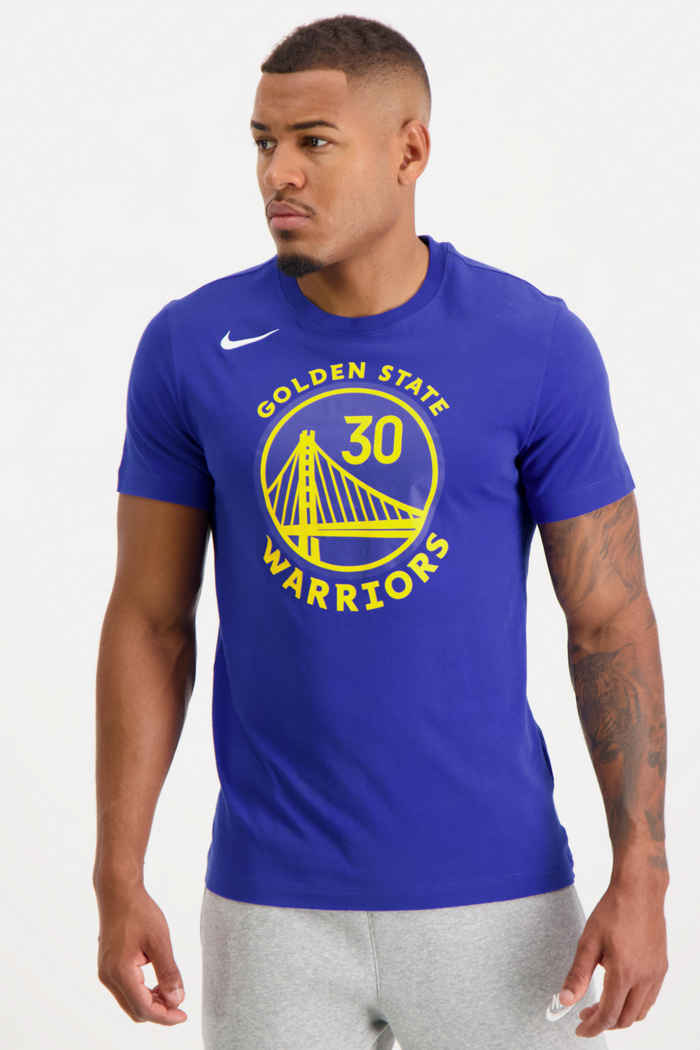Nike Golden State Warriors Stephen Curry t-shirt hommes 1
