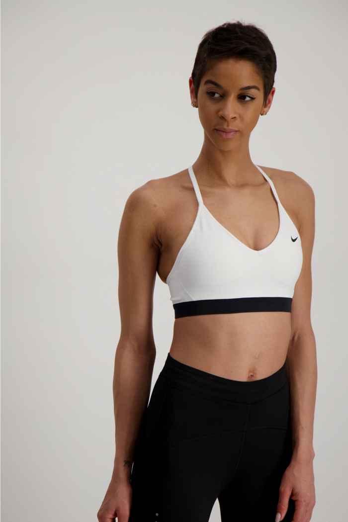 Nike Indy Damen Sport-BH Farbe Weiß 1