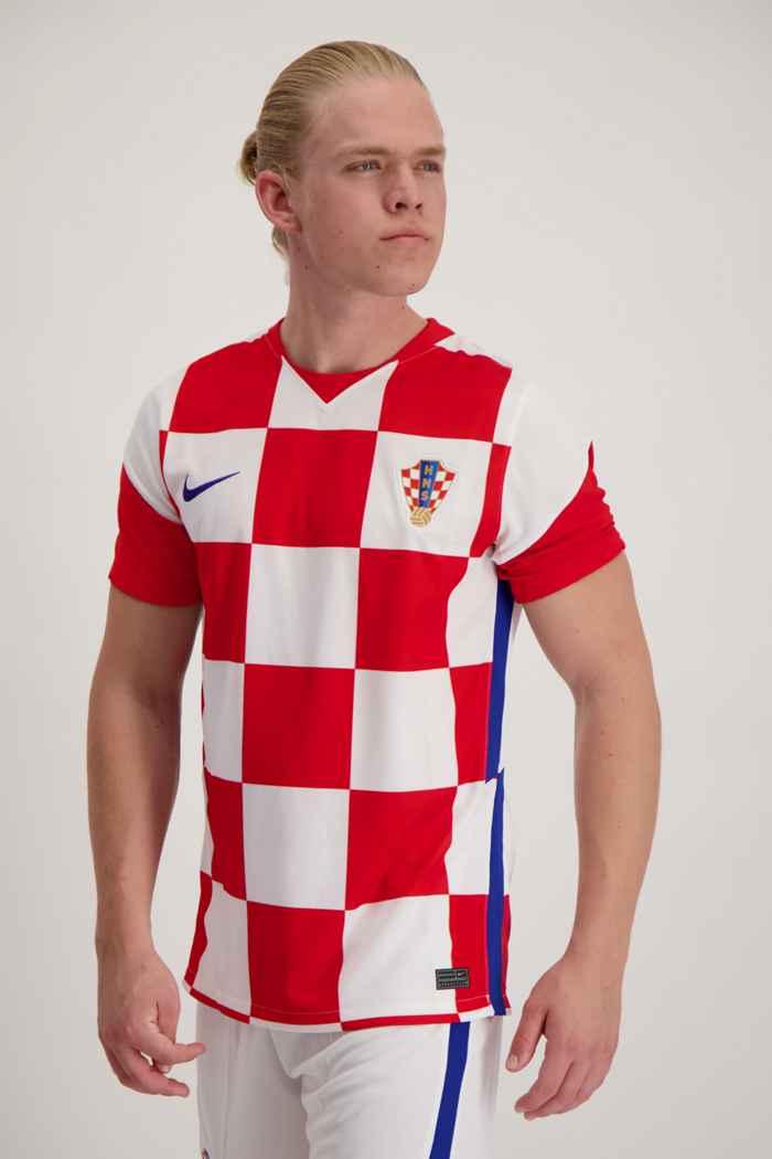 Nike Kroatien Home Replica Herren Fussballtrikot 1