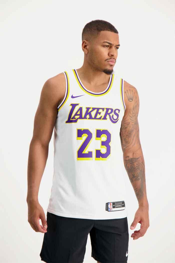 Nike LA Lakers James Lebron maillot de basket hommes 1