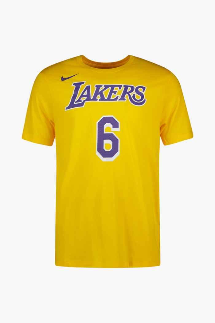 Nike LA Lakers James Lebron t-shirt hommes 1
