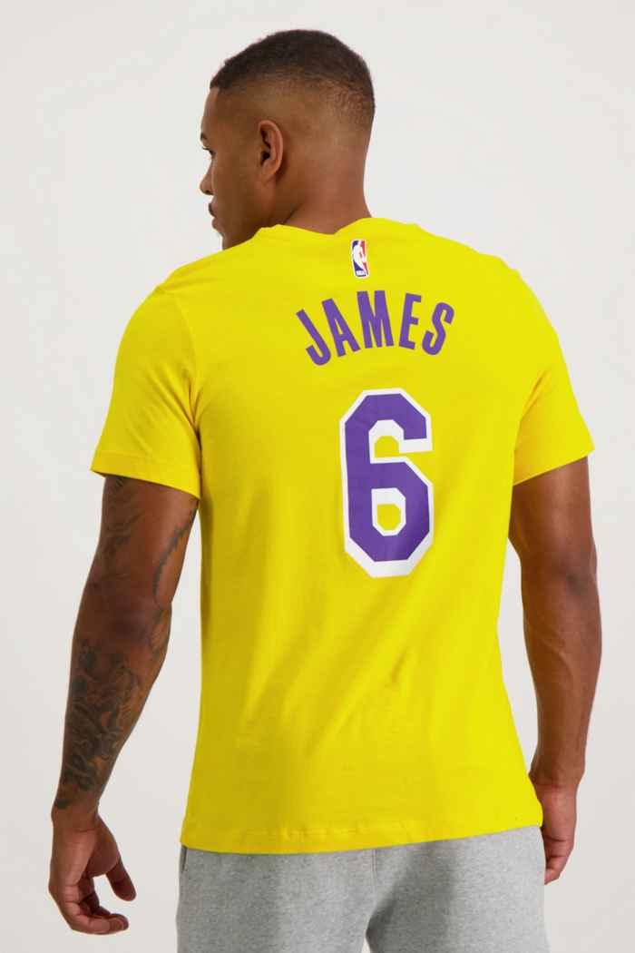 Nike LA Lakers James Lebron t-shirt hommes 2