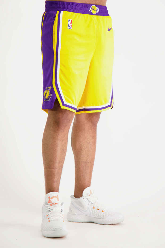 Nike LA Lakers short de basket hommes 1