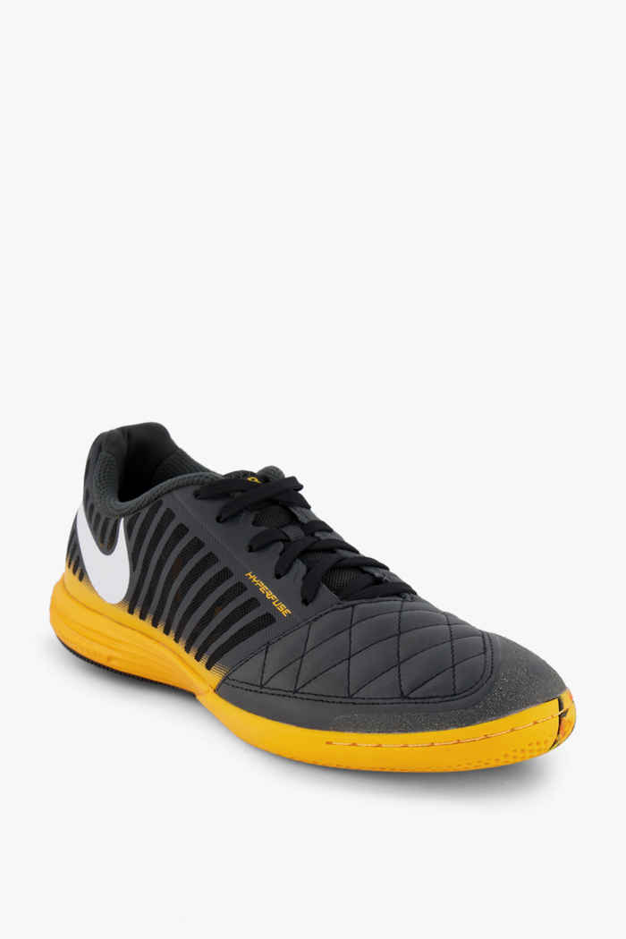 Nike Lunar Gato II IC chaussures de football hommes Couleur Gris 1