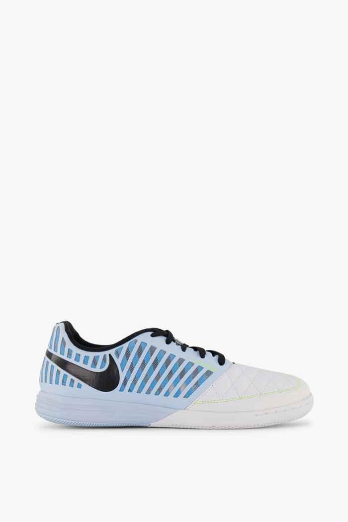 Nike Lunar Gato II IC Herren Fussballschuh Farbe Weiß-blau 2