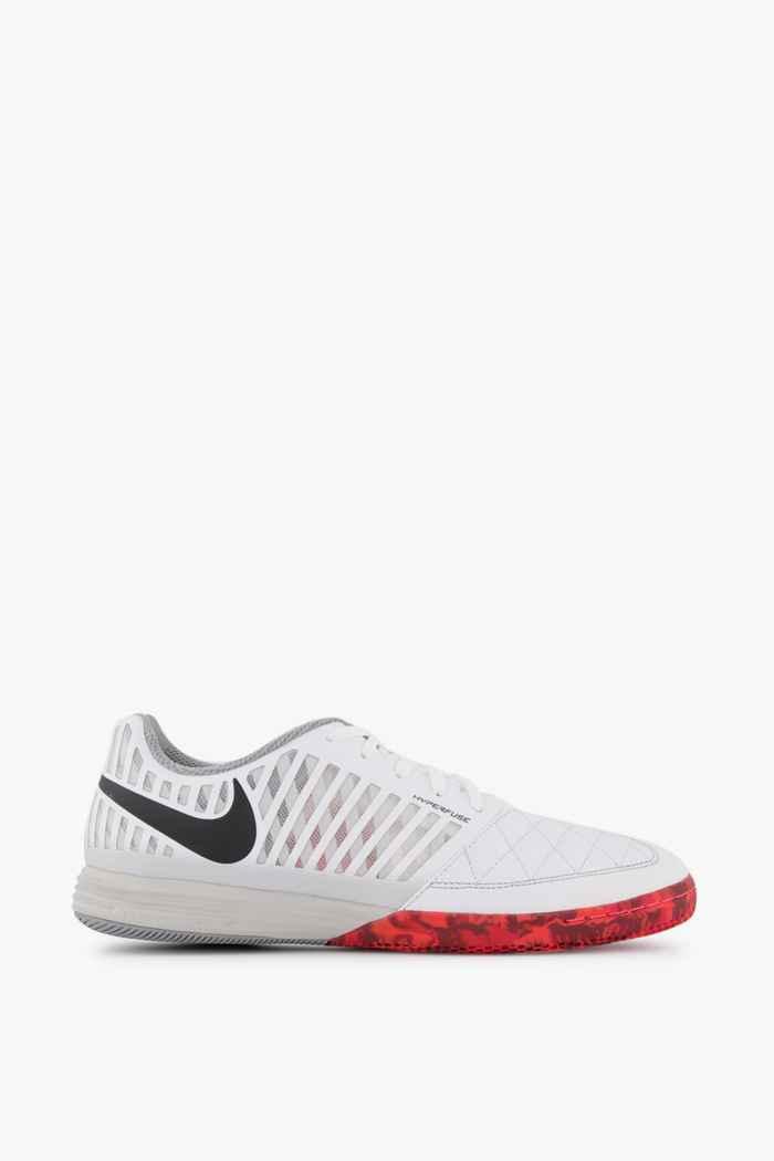 Nike Lunar Gato II IC Herren Fussballschuh Farbe Weiß-rot 2