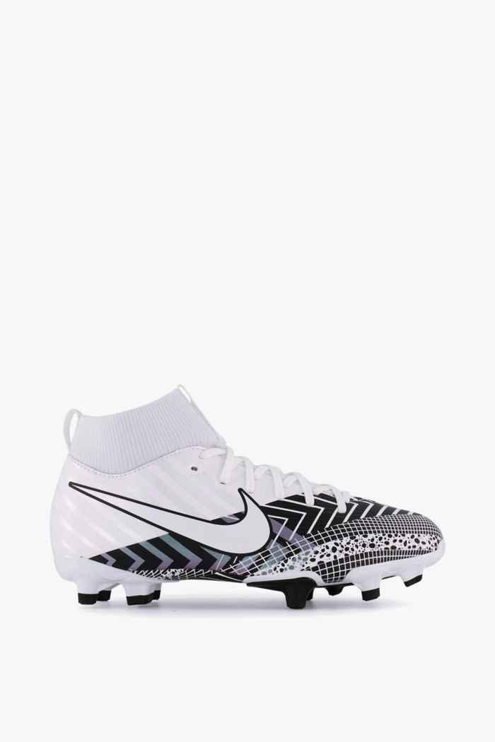 Nike Mercurial Superfly 7 Academy MDS MG Kinder Fussballschuh Farbe Schwarz-weiß 2