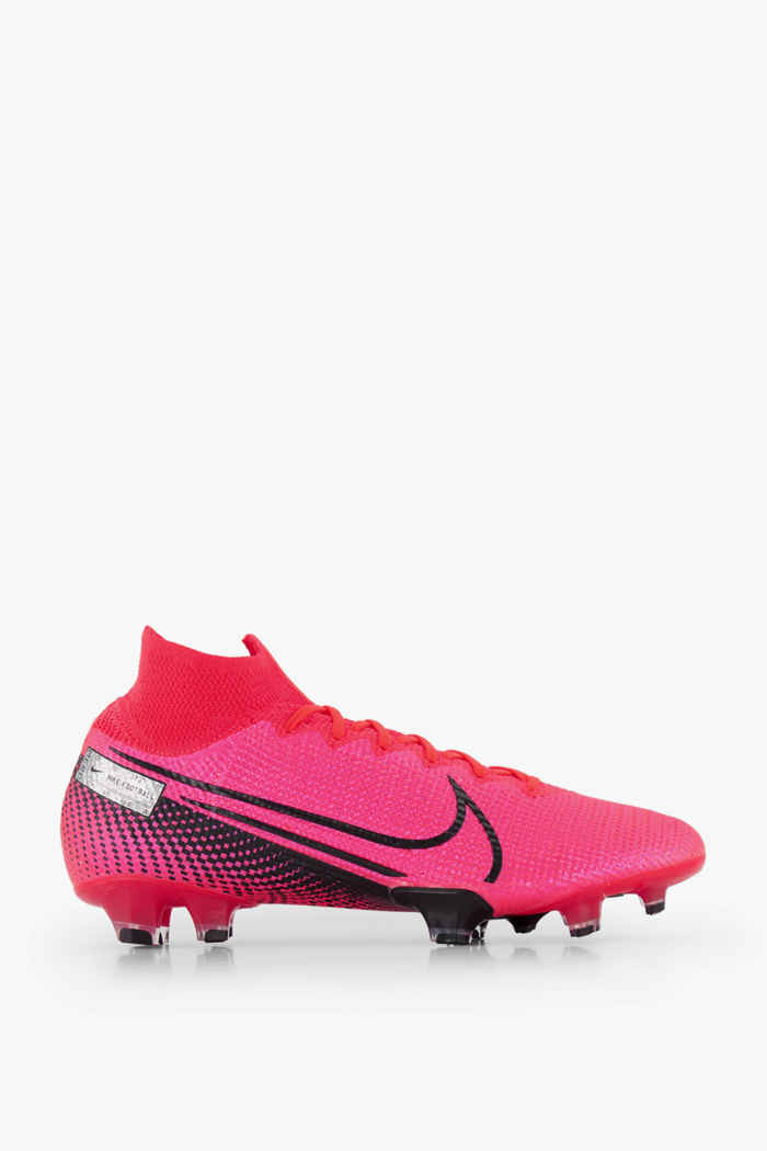 Nike Mercurial Superfly 7 Elite FG chaussures de football hommes Couleur Rouge 2