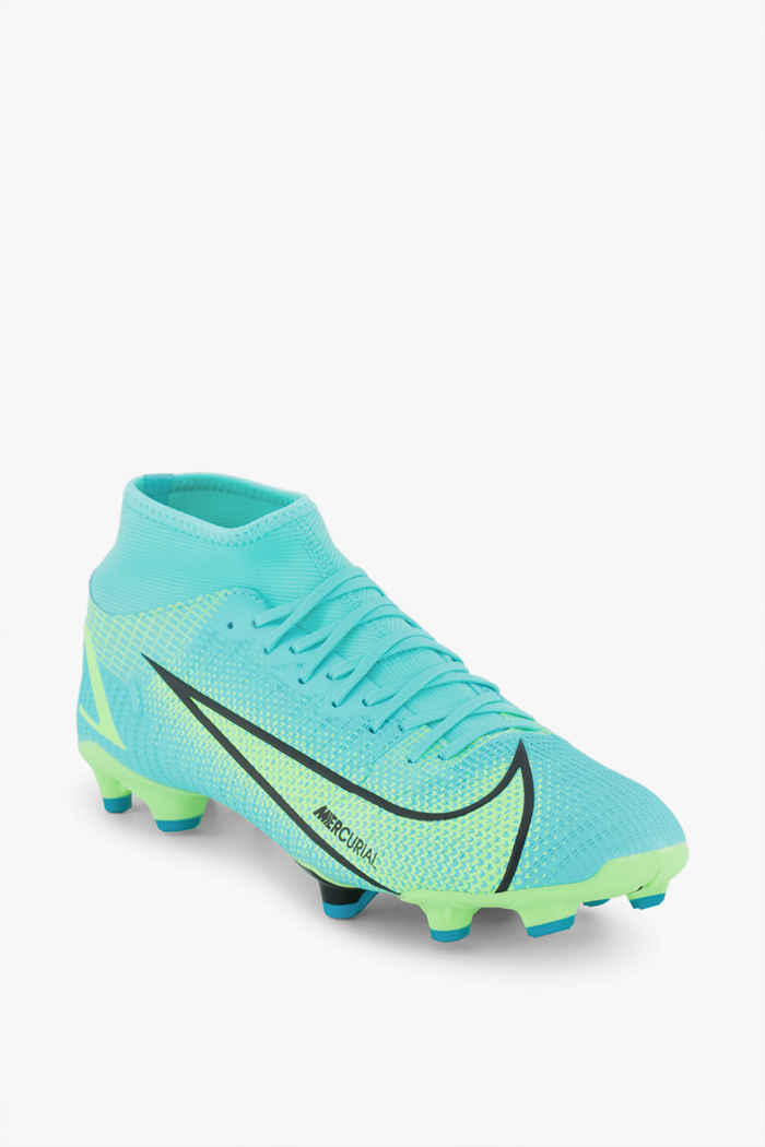Nike Mercurial Superfly 8 Academy MG chaussures de football hommes Couleur Turquoise 1