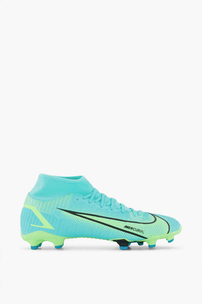 Nike Mercurial Superfly 8 Academy MG chaussures de football hommes Couleur Turquoise 2
