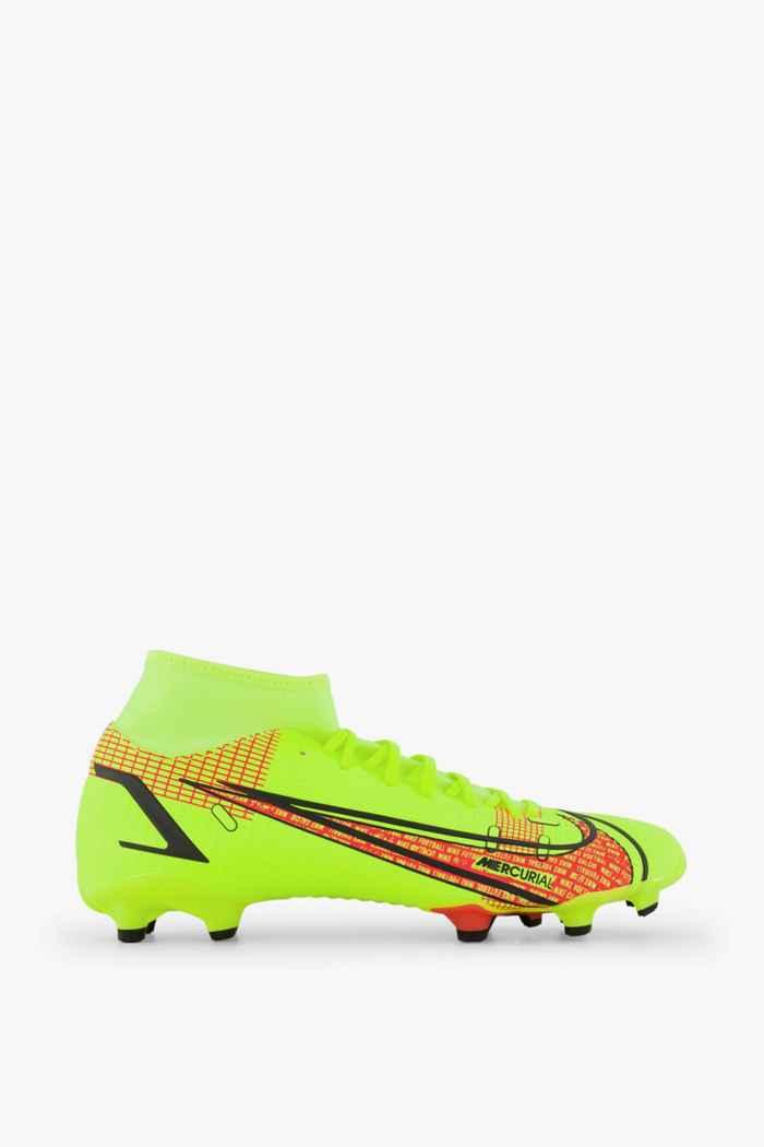Nike Mercurial Superfly 8 Academy MG Herren Fussballschuh Farbe Blau 2