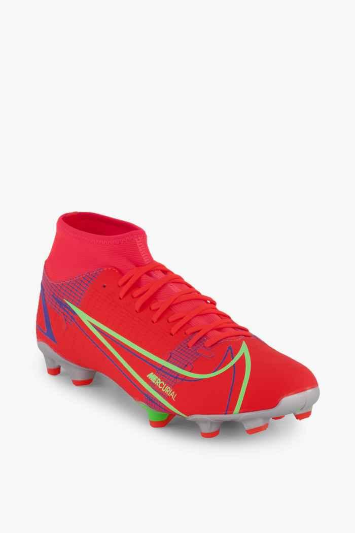 Nike Mercurial Superfly 8 Academy MG Herren Fussballschuh Farbe Rot 1
