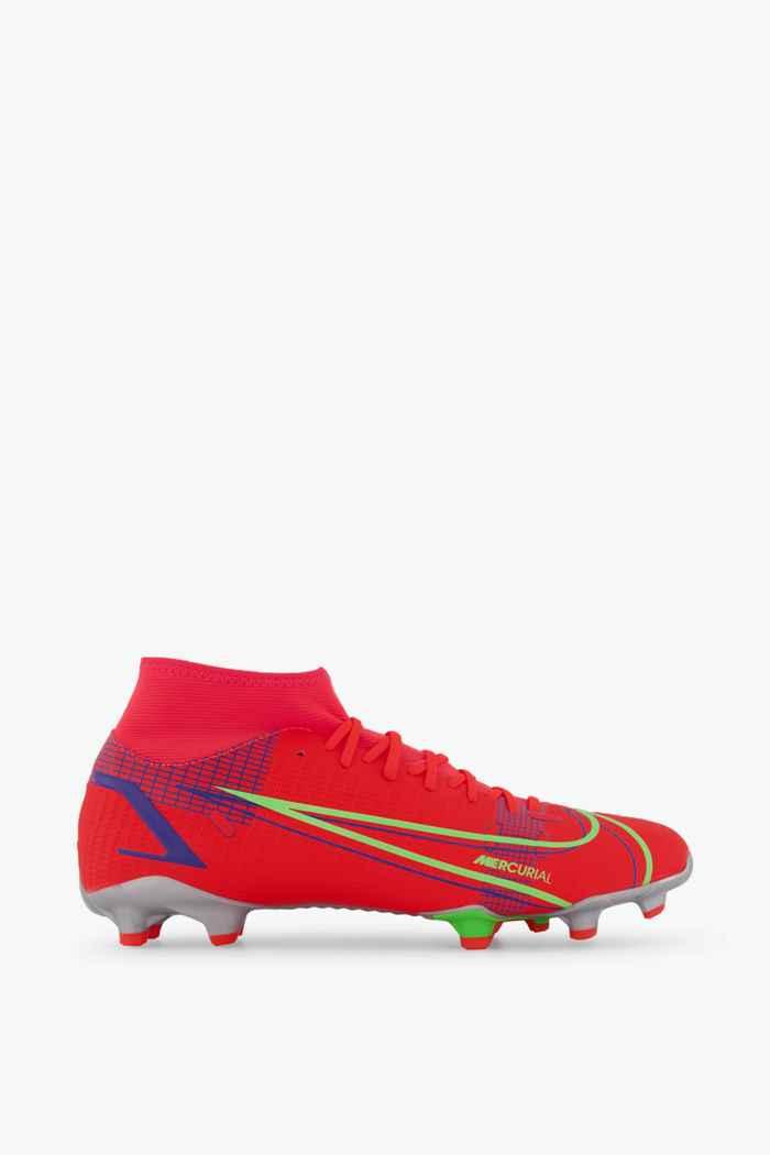 Nike Mercurial Superfly 8 Academy MG Herren Fussballschuh Farbe Rot 2