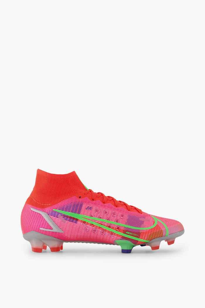 Nike Mercurial Superfly 8 Elite FG chaussures de football hommes Couleur Rouge 2