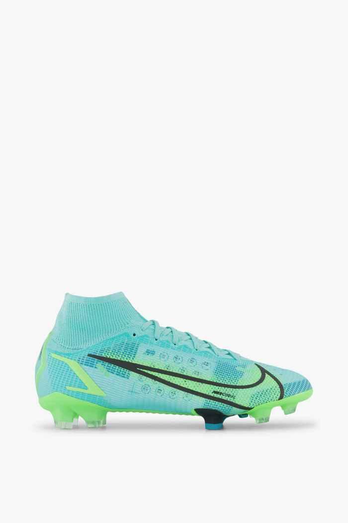 Nike Mercurial Superfly 8 Elite FG Herren Fussballschuh Farbe Türkis 2