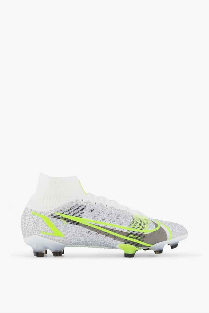 Nike Mercurial Superfly 8 Elite FG Herren Fussballschuh Farbe Weiß 2