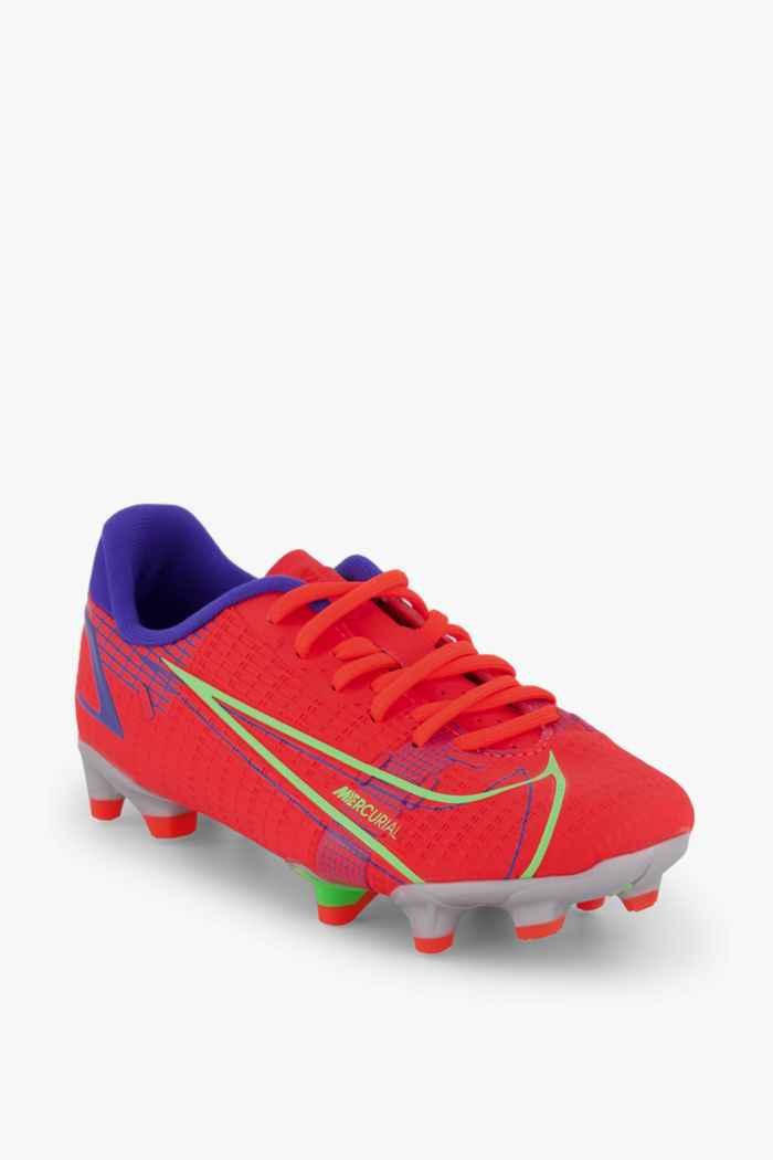 Nike Mercurial Vapor 14 Academy FG/MG chaussures de football enfants Couleur Rouge 1