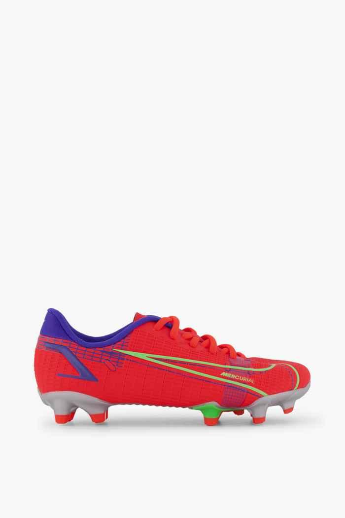 Nike Mercurial Vapor 14 Academy FG/MG chaussures de football enfants Couleur Rouge 2