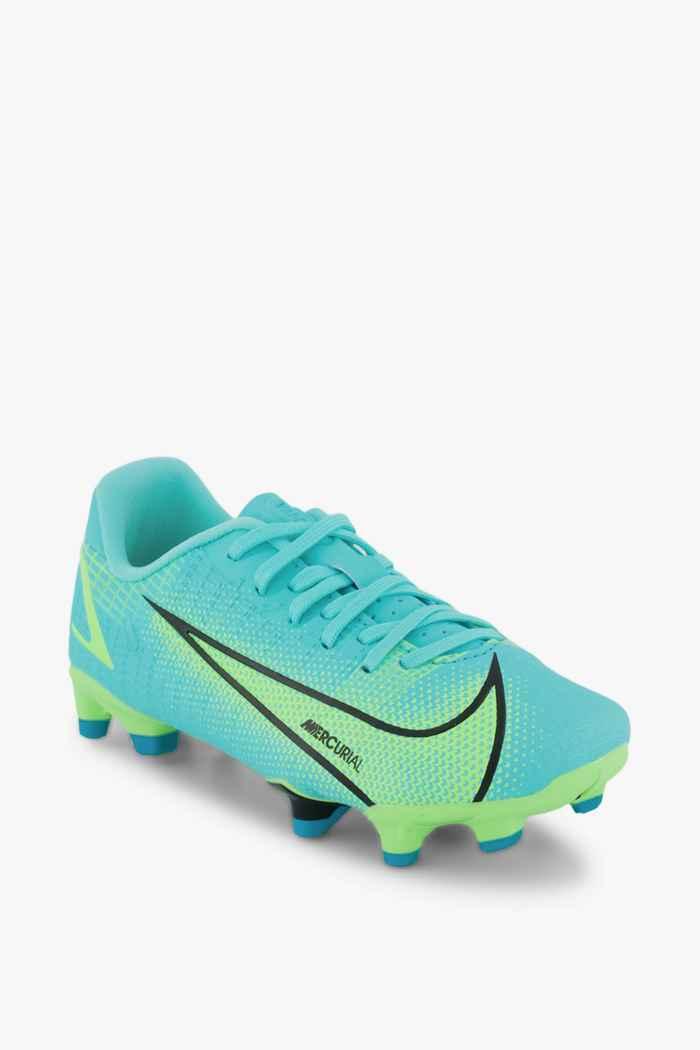 Nike Mercurial Vapor 14 Academy FG/MG chaussures de football enfants Couleur Turquoise 1