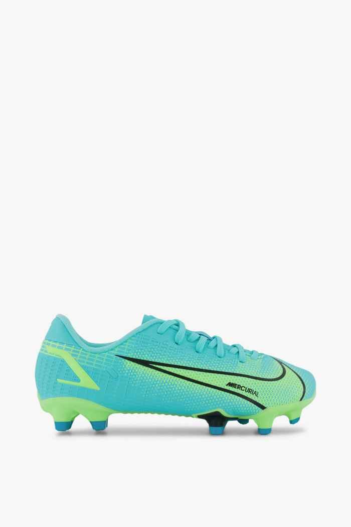 Nike Mercurial Vapor 14 Academy FG/MG scarpa da calcio bambini Colore Turchese 2