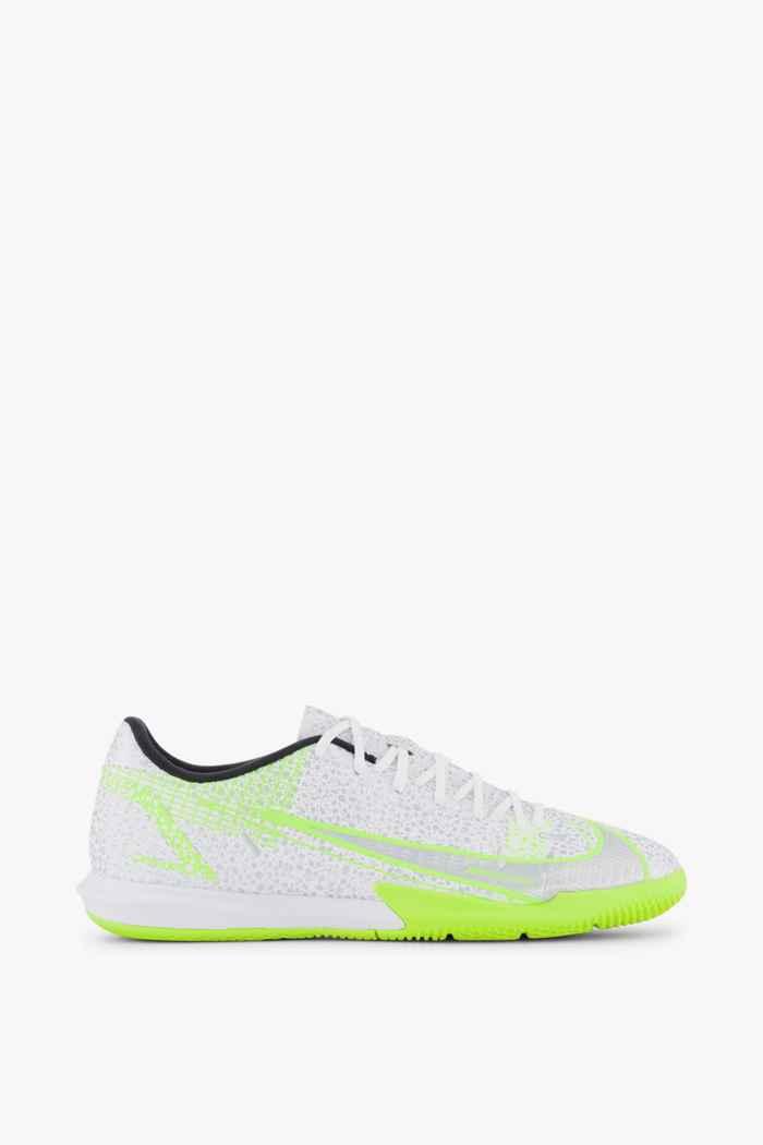 Nike Mercurial Vapor 14 Academy IC chaussures de football hommes Couleur Blanc 2
