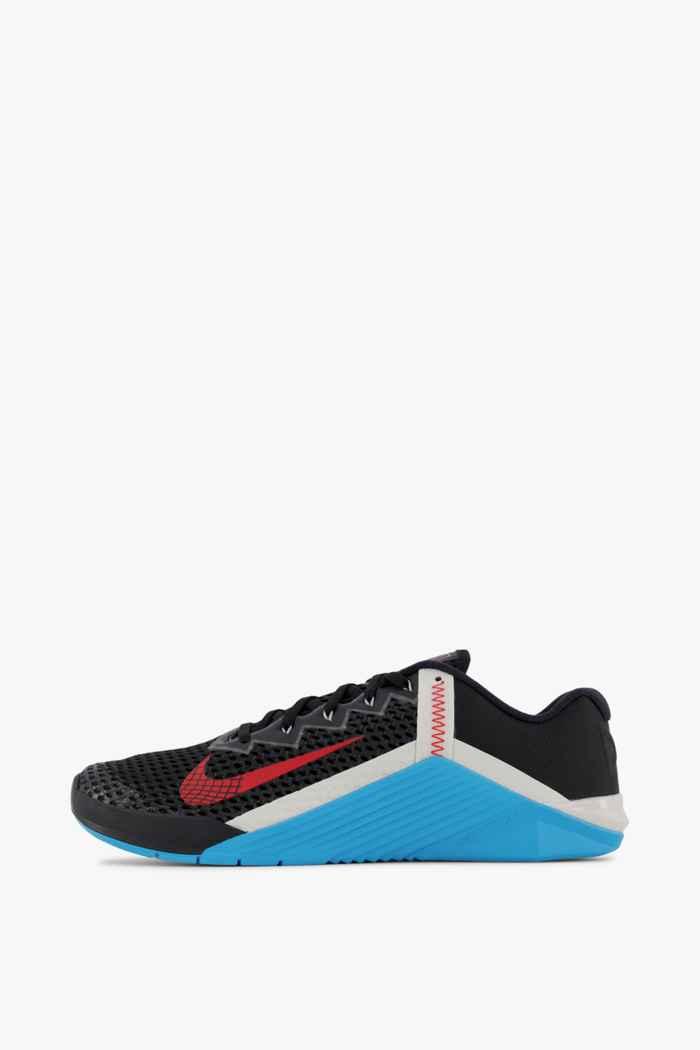 Nike Metcon 6 Herren Fitnessschuh Farbe Schwarz-rot 2