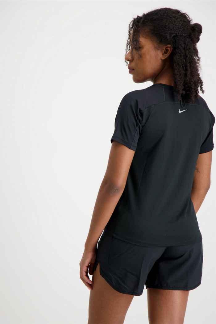 Nike Miler Run Division Damen T-Shirt Farbe Schwarz 2