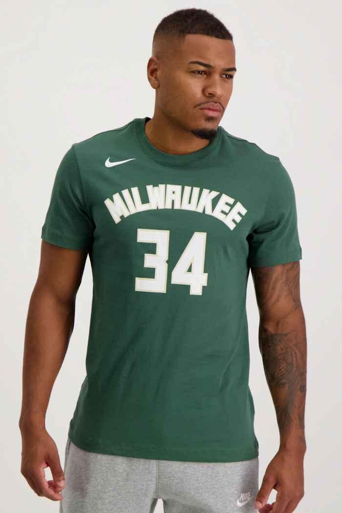Nike Milwaukee Bucks Giannis Antetokounmpo t-shirt hommes 1