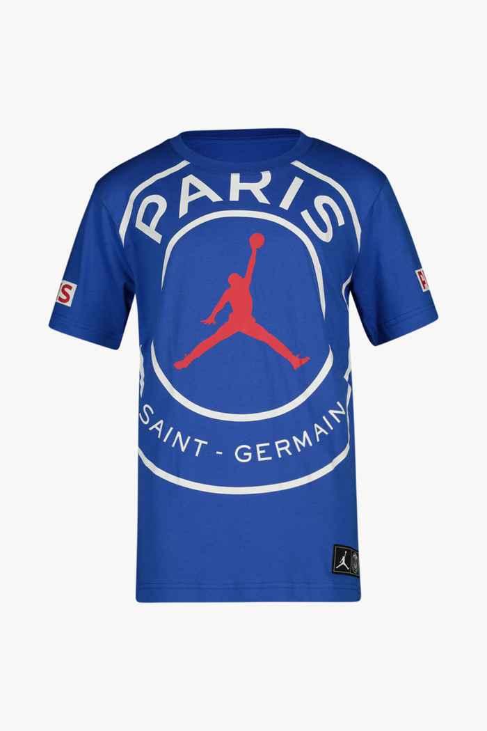 Nike Paris Saint-Germain Jordan t-shirt garçons Couleur Bleu 1