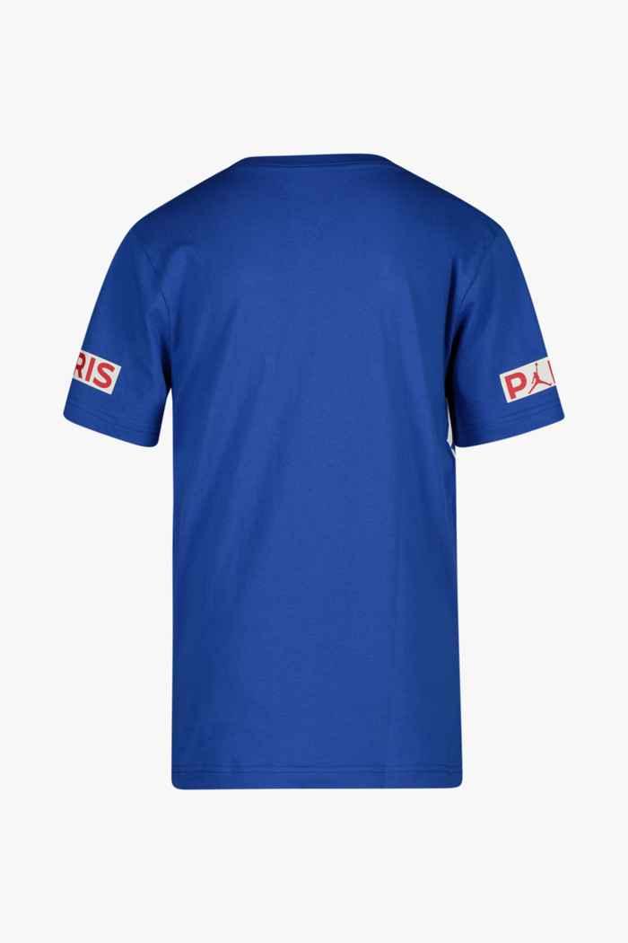 Nike Paris Saint-Germain Jordan t-shirt garçons Couleur Bleu 2