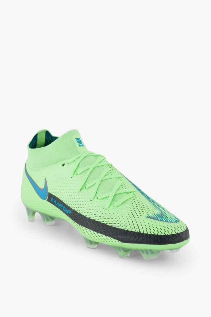 Nike Phantom GT Elite Dynamic Fit FG chaussures de football hommes Couleur Vert 1