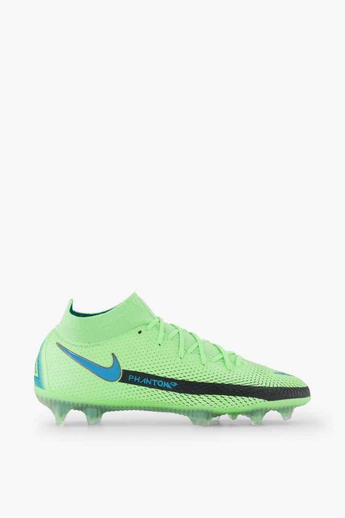 Nike Phantom GT Elite Dynamic Fit FG chaussures de football hommes Couleur Vert 2