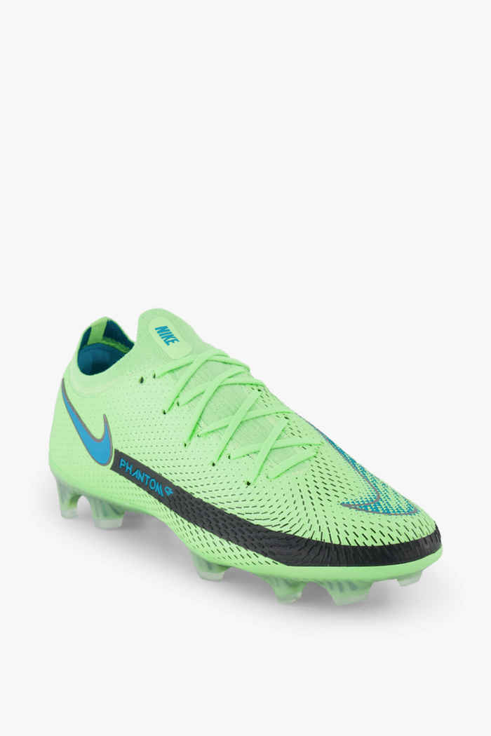 Nike Phantom GT Elite FG chaussures de football hommes Couleur Vert 1