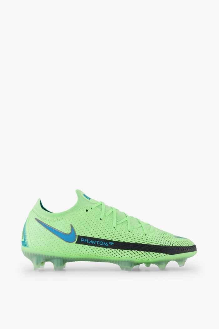 Nike Phantom GT Elite FG chaussures de football hommes Couleur Vert 2