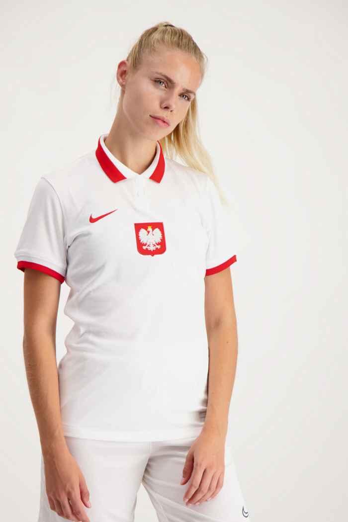 Nike Pologne Home Replica maillot de football femmes 1