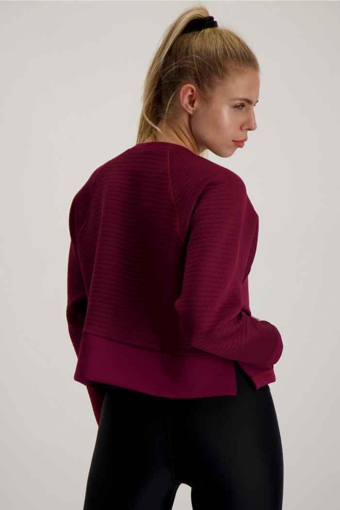 Nike Pro Damen Longsleeve Farbe Berry 2
